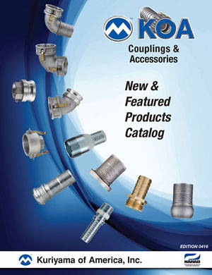 KOA Couplings New and Featured Product Catalog