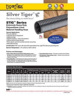 Tigerflex-Hoses-Silver Tiger